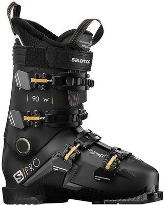 Salomon S/PRO 90 W Black/Belluga/Gold 24/24,5 19/20