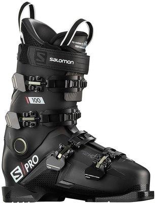 Salomon S/PRO 100 Black/Belluga/Red 26/26,5 19/20