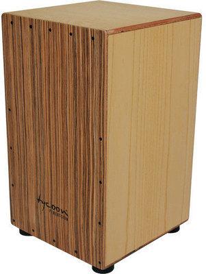 Tycoon Box Cajon American White Ash & Zebrano Frontplate