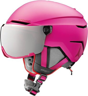 Atomic Savor Visor Junior Ski Kaciga Pink S