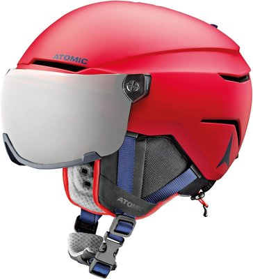 Atomic Savor Visor Junior Ski Kaciga Red XS