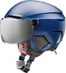 Atomic Savor Visor Junior Ski Helmet Blue