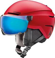 Atomic Savor Visor Stereo Ski Helmet Red