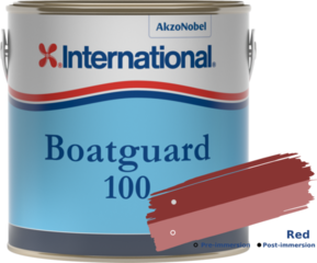International Boatguard 100 Red