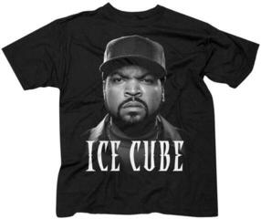 Ice Cube Unisex Tee Good Day Face Black