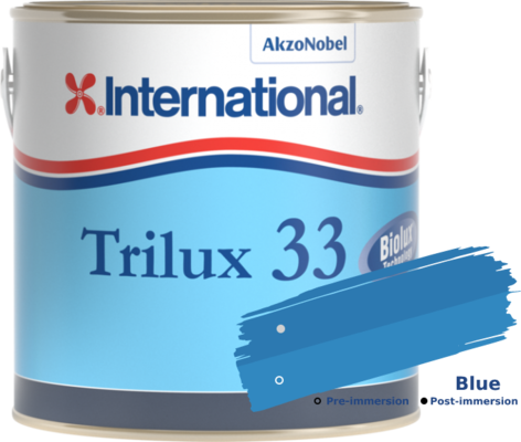 International Trilux 33 Blue 750ml