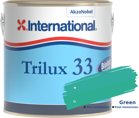 International Trilux 33 Green 750ml