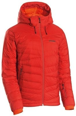 Atomic Ridgeline Hybrid Down Mens Insulated Jacket Dark Red M 19/20