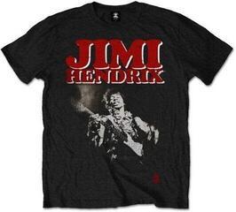 Jimi Hendrix Unisex Tee Block Logo Black