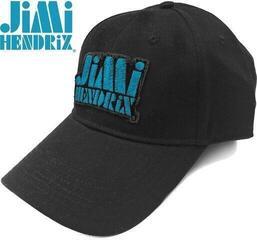 Jimi Hendrix Unisex Baseball Cap Blue Stencil Logo