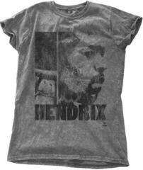 Jimi Hendrix Fashion Tee Let Me Live with Snow Wash Finishing M