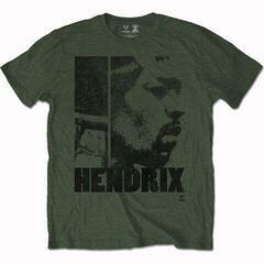 Jimi Hendrix Unisex Tee Let Me Live Khaki Green