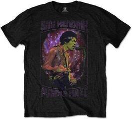Jimi Hendrix Unisex Tee Purple Haze Frame Black