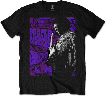 Jimi Hendrix Unisex Tee Purple Haze XXL