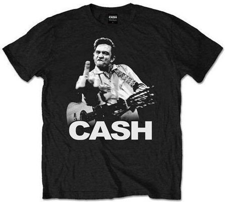 Johnny Cash Unisex Tee Finger XXL