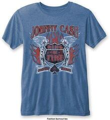 Johnny Cash Unisex Fashion Tee Ring of Fire (Burn Out) XL