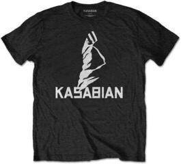 Kasabian Unisex Tee Ultra Face 2004 Tour (Back Print) L