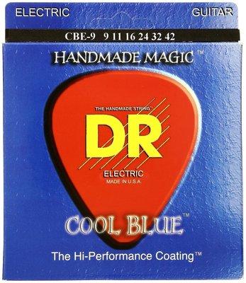 DR Strings CBE-9 K3 Cool Blue Lite