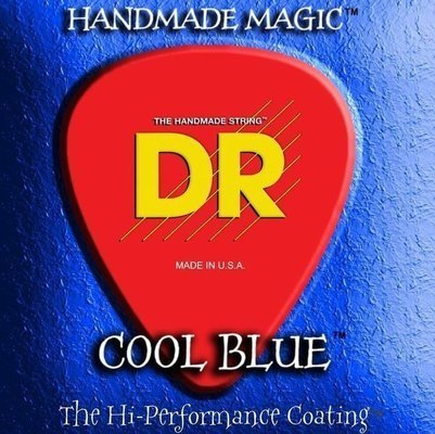 DR Strings CBE-10 Cool Blue Big & Heavy