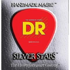 DR Strings SIE-10 Silver Stars Medium