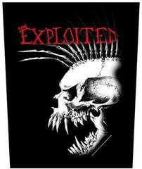 Rock Off The Exploited Back Patch Bastard Skull
