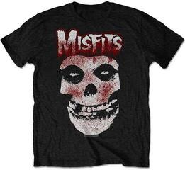 Misfits Unisex Tee Blood Drip Skull (Retail Pack) Black