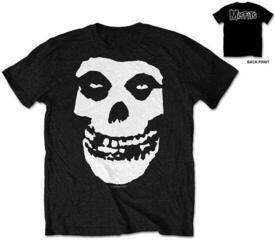 Misfits Unisex Tee Classic Fiend Skull (Retail Pack/Back Print) Black