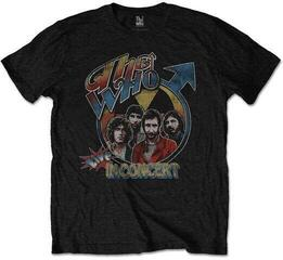 The Who Unisex Tee Live in Concert Black