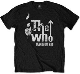The Who Unisex Tee Maximum R&B Black