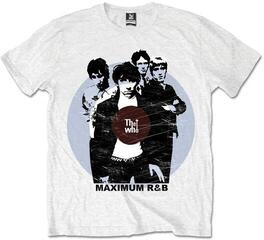 The Who Unisex Tee Maximum R&B (Retail Pack) White