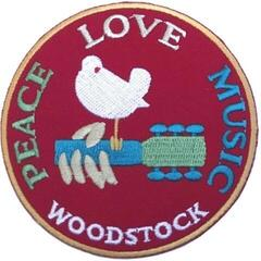 Woodstock Standard Patch Peace Love Music