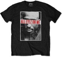2Pac Unisex Tee All Eyez Black