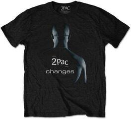 2Pac Unisex Tee Changes Black