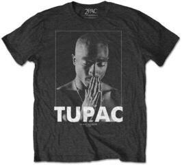 2Pac Unisex Tee Praying Black