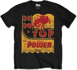 ZZ Top Unisex Tee Speed Oil Black/Yellow/Red