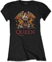 Queen Tee Classic Crest Black L