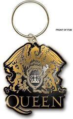 Queen Standard Keychain Gold Crest