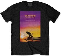 Queen Unisex Tee Bohemian Rhapsody Black (Back Print) M
