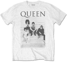 Queen Unisex Tee Stairs White