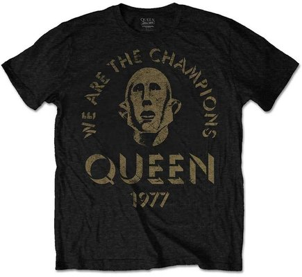 Rock Off Queen Unisex Tee We Are The Champions L