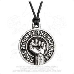 Rage Against The Machine Pendant Fist