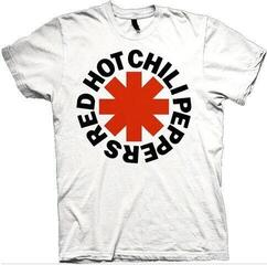 Red Hot Chili Peppers Unisex Tee Red Asterisk White