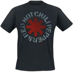 Red Hot Chili Peppers Unisex Tee Stencil Black