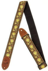 Gretsch G Brand Strap Yellow/Orange Brown Ends