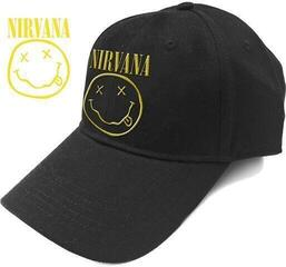 Nirvana Unisex Baseball Cap Logo & Smiley