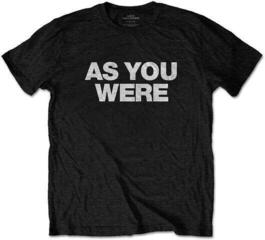Rock Off Liam Gallagher Unisex Tee As You Were Black