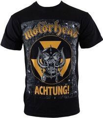 Motörhead Motorhead Unisex Tee Achtung Black