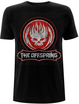The Offspring Unisex Tee Distressed Skull XL