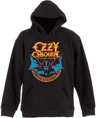Rock Off Ozzy Osbourne Unisex Pullover Hoodie Bat Circle Black