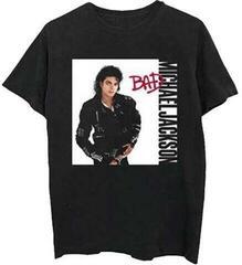 Michael Jackson Unisex Tee Bad Black M